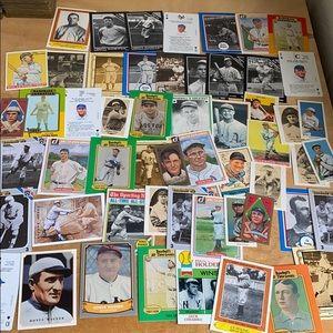 58 card baseball reprint lot cy young Wagner foxx